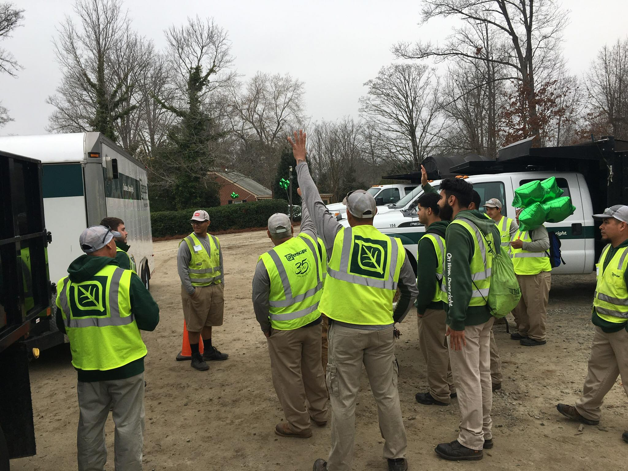 Greenscape Employees at Safety Training Day