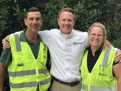 Happy Greenscape landscape employees