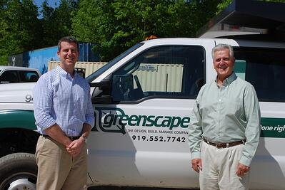 Daniel and Michael Currin at Greenscape
