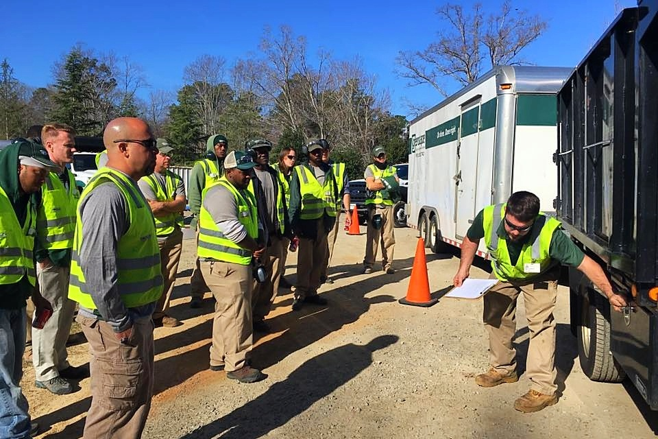Landscaper safety training Greenscape