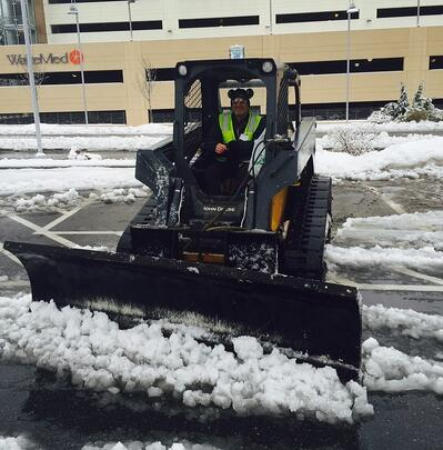 snow removal at medical facility